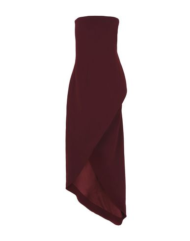 Фото - Платье до колена от SAMUEL DOUGAL красно-коричневого цвета