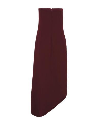 Фото 2 - Платье до колена от SAMUEL DOUGAL красно-коричневого цвета