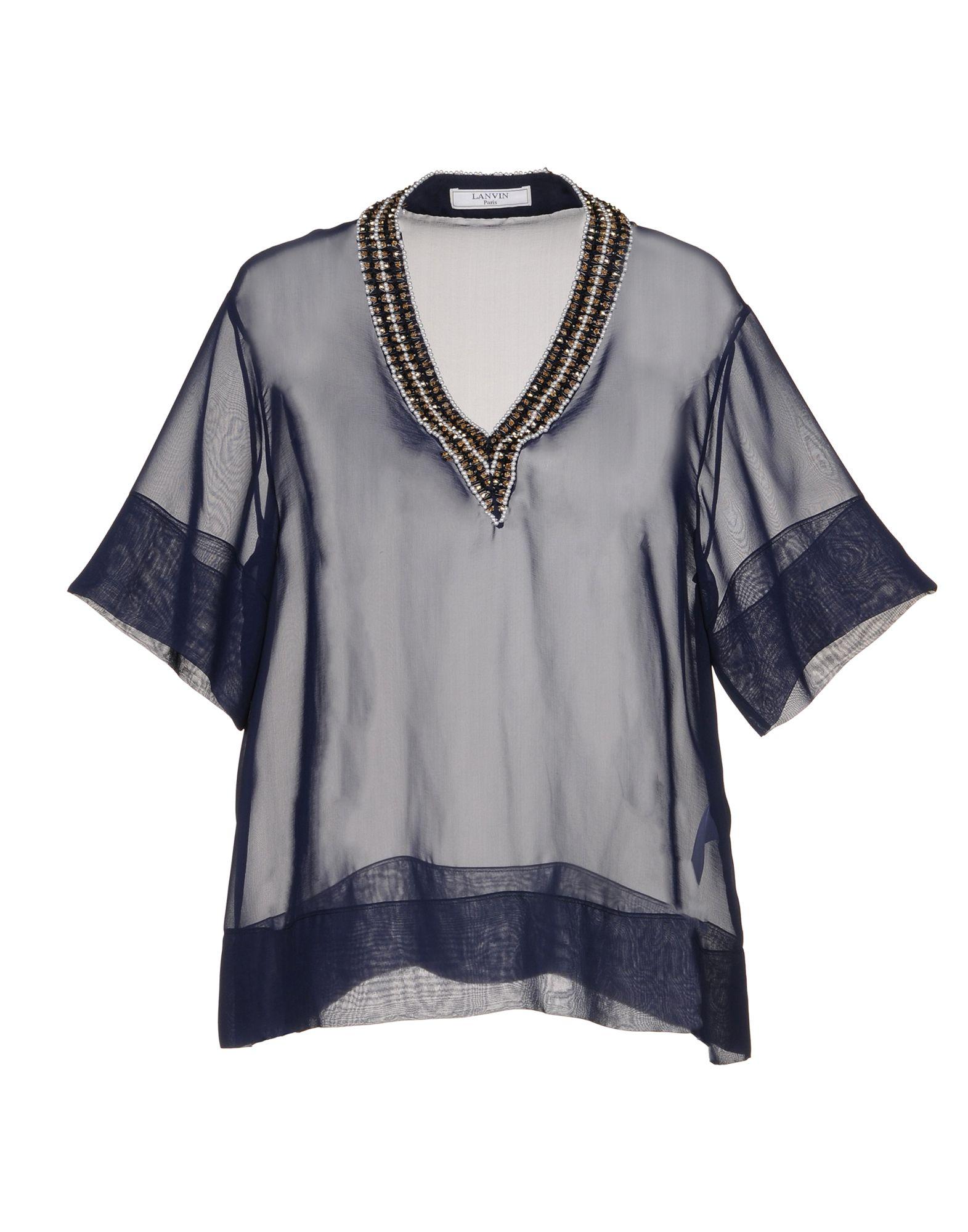 LANVIN Блузка блузка t tahari блузка