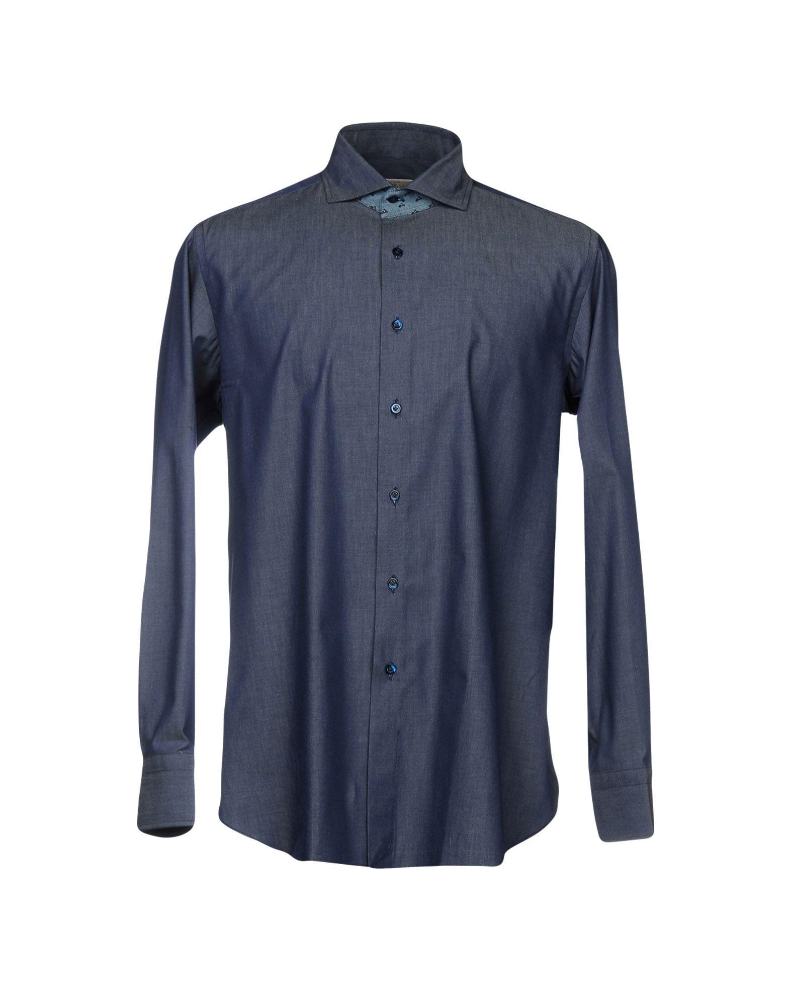 J.W. SAX Milano Джинсовая рубашка j w sax milano кардиган