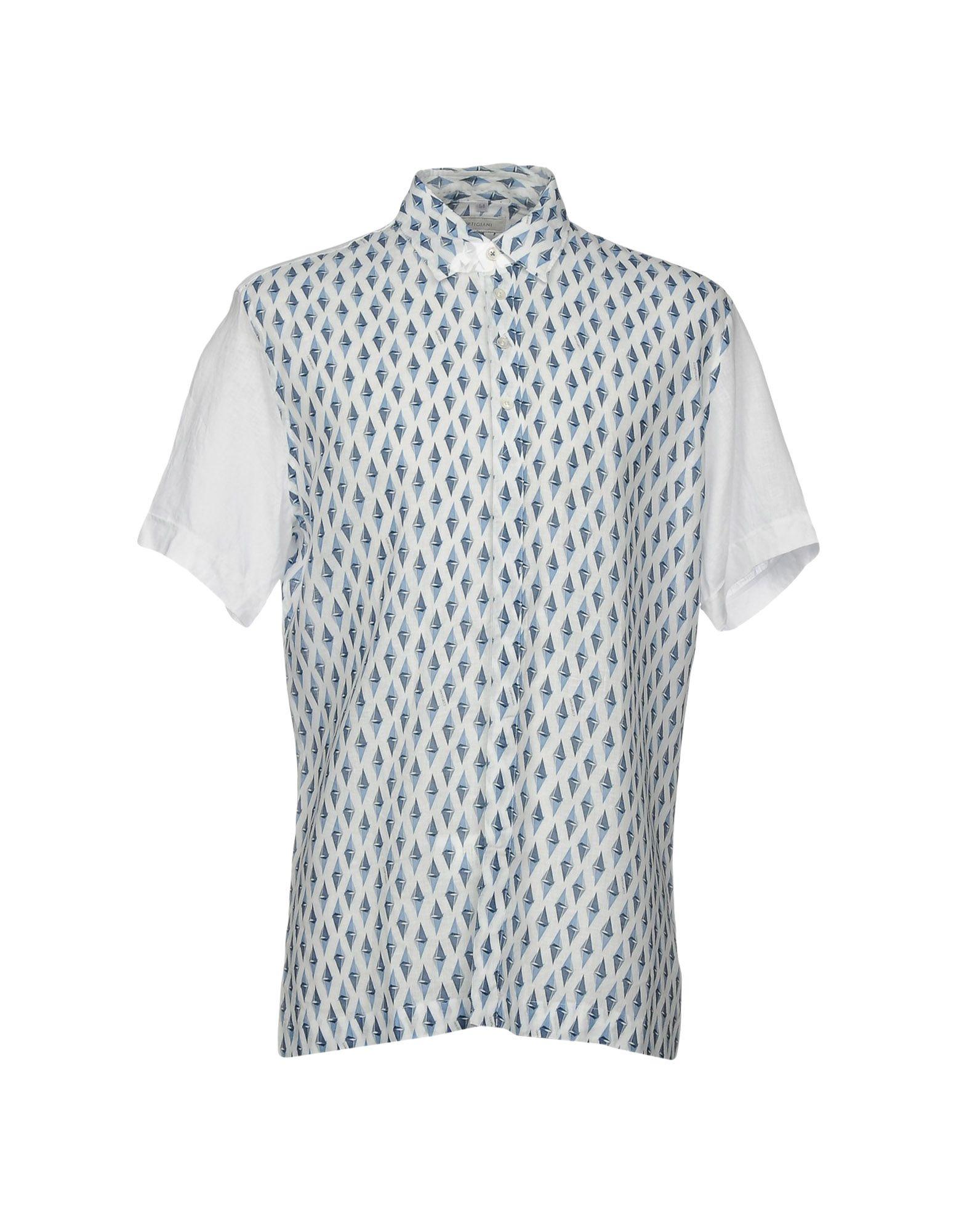 CORTIGIANI Pубашка цена 2017