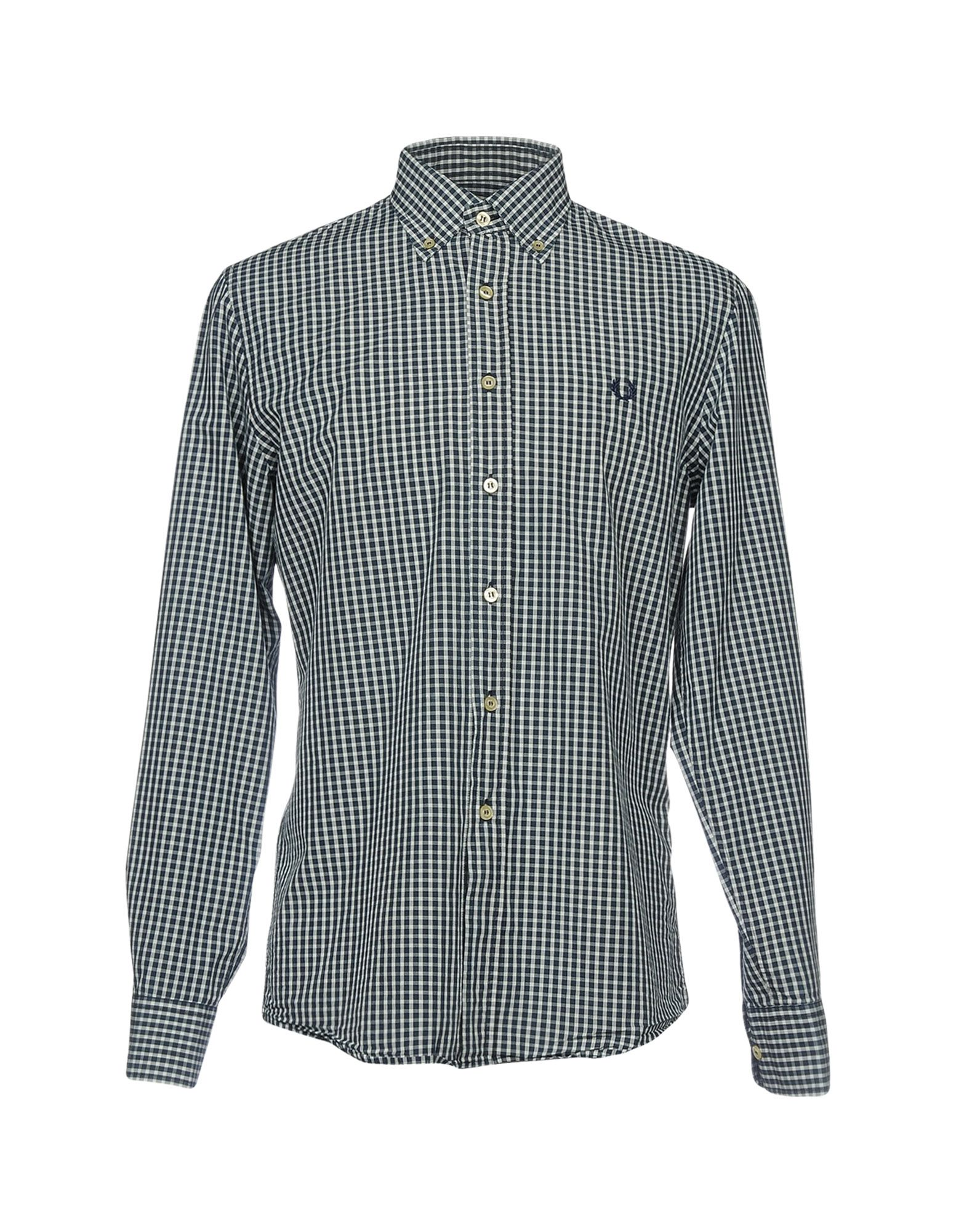 FRED PERRY Pубашка рубашка в клетку insight fred sonic weed green