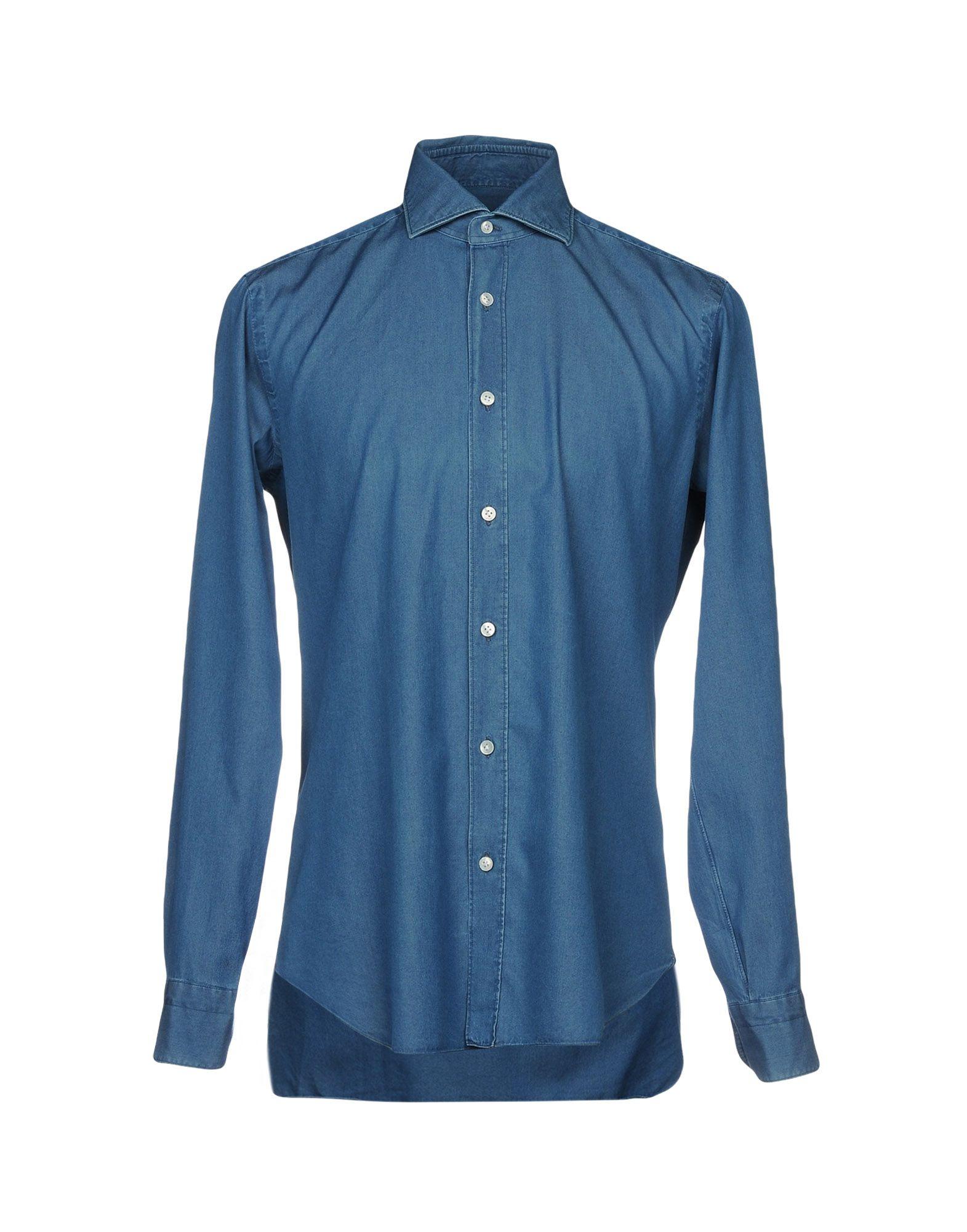BARBA Napoli Джинсовая рубашка цена 2017