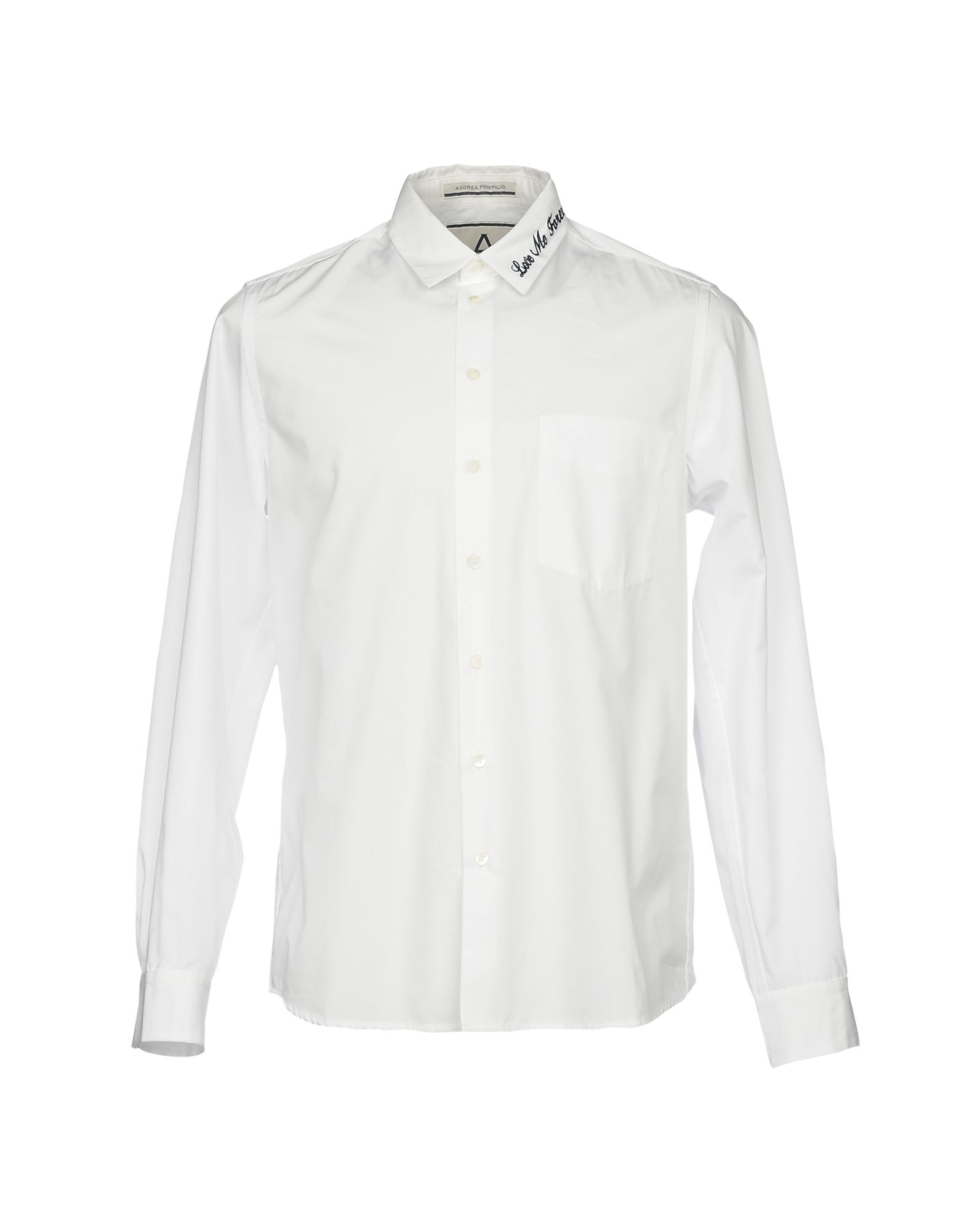 цена ANDREA POMPILIO Pубашка онлайн в 2017 году