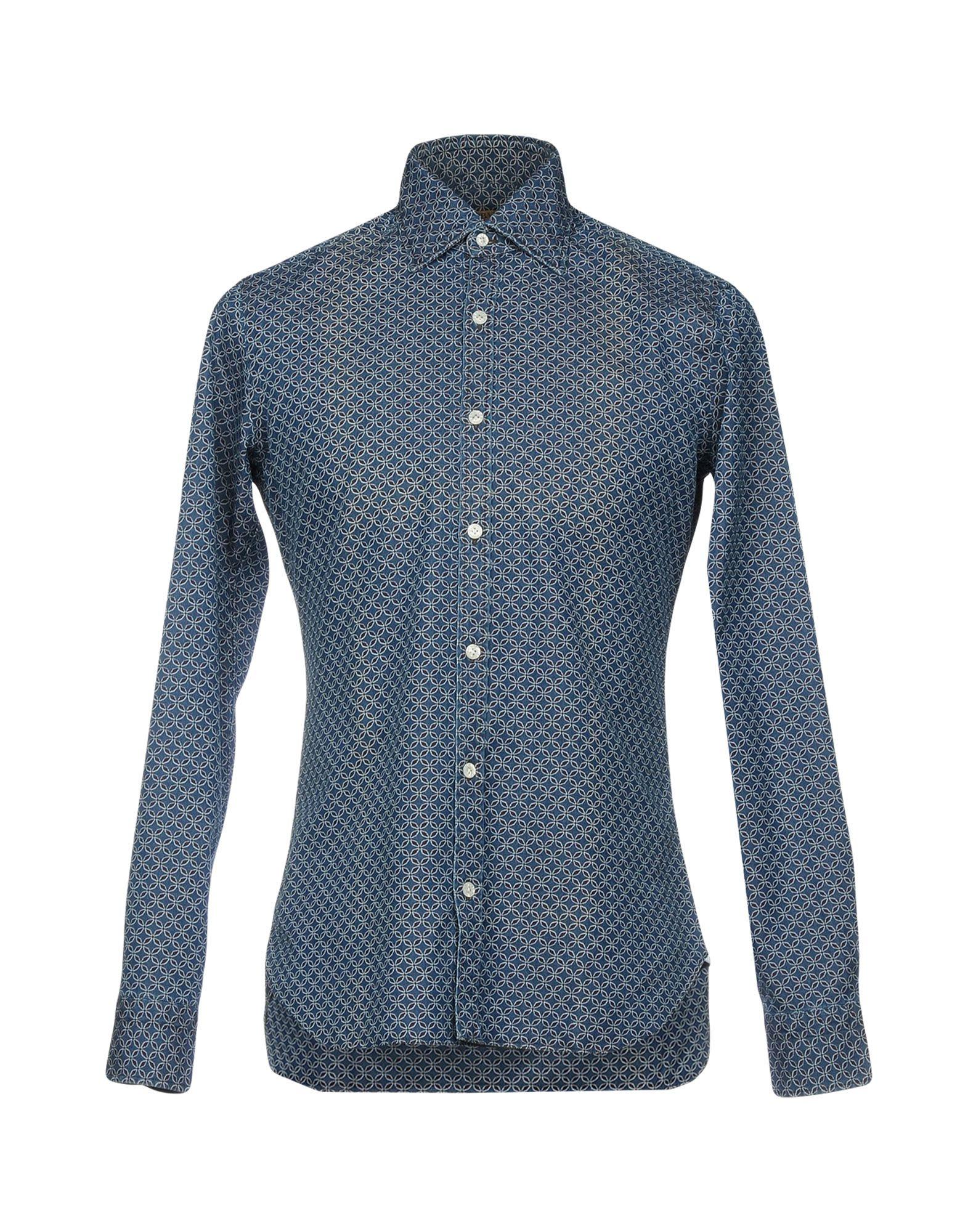 купить DANDYLIFE by BARBA Джинсовая рубашка по цене 13250 рублей