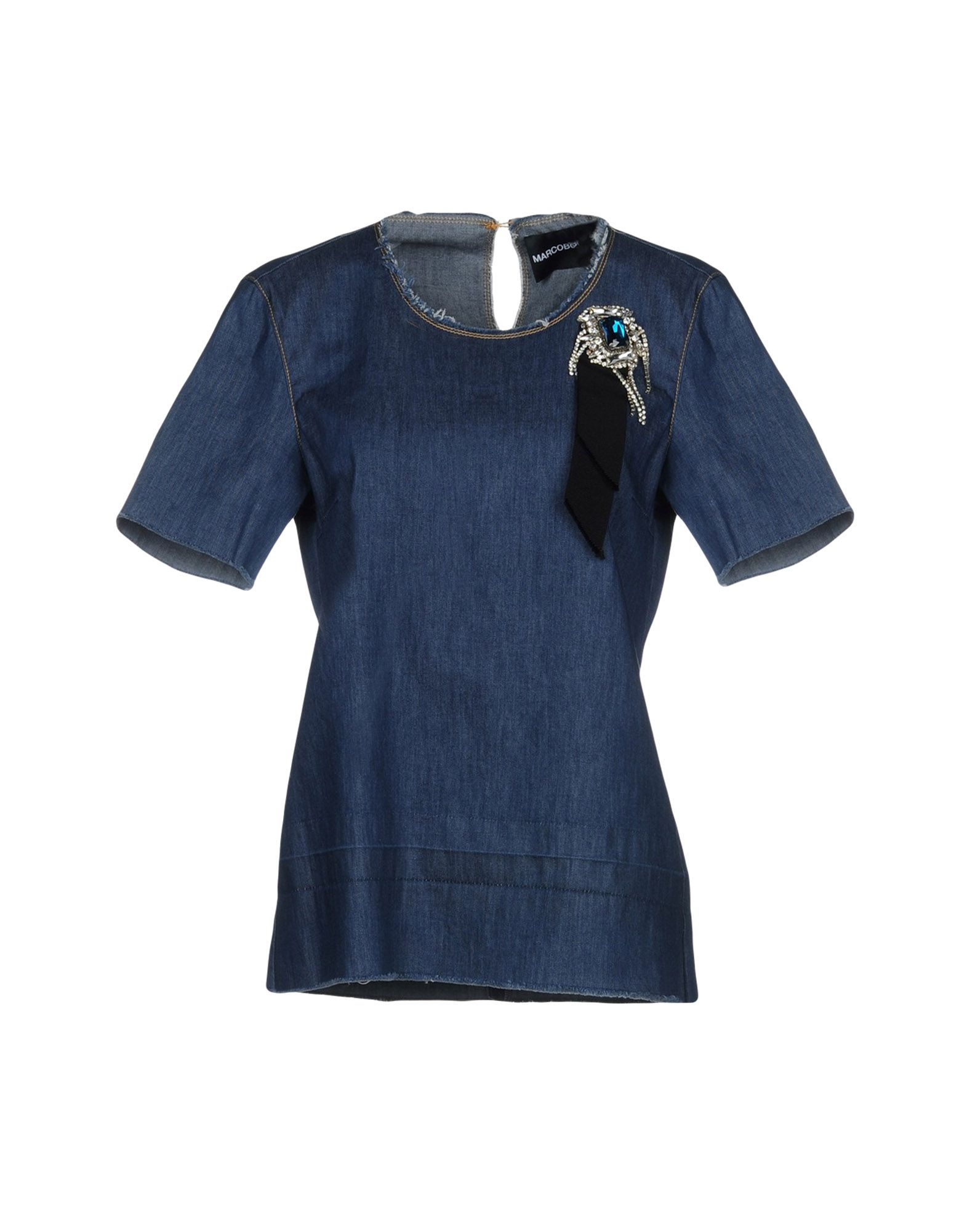 MARCO BOLOGNA Джинсовая рубашка marco bologna джинсовая юбка