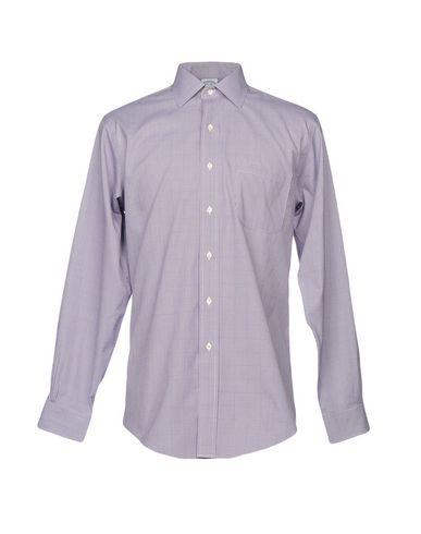 Фото - Pубашка от BROOKS BROTHERS фиолетового цвета