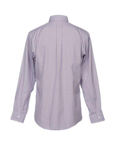 Фото 2 - Pубашка от BROOKS BROTHERS фиолетового цвета