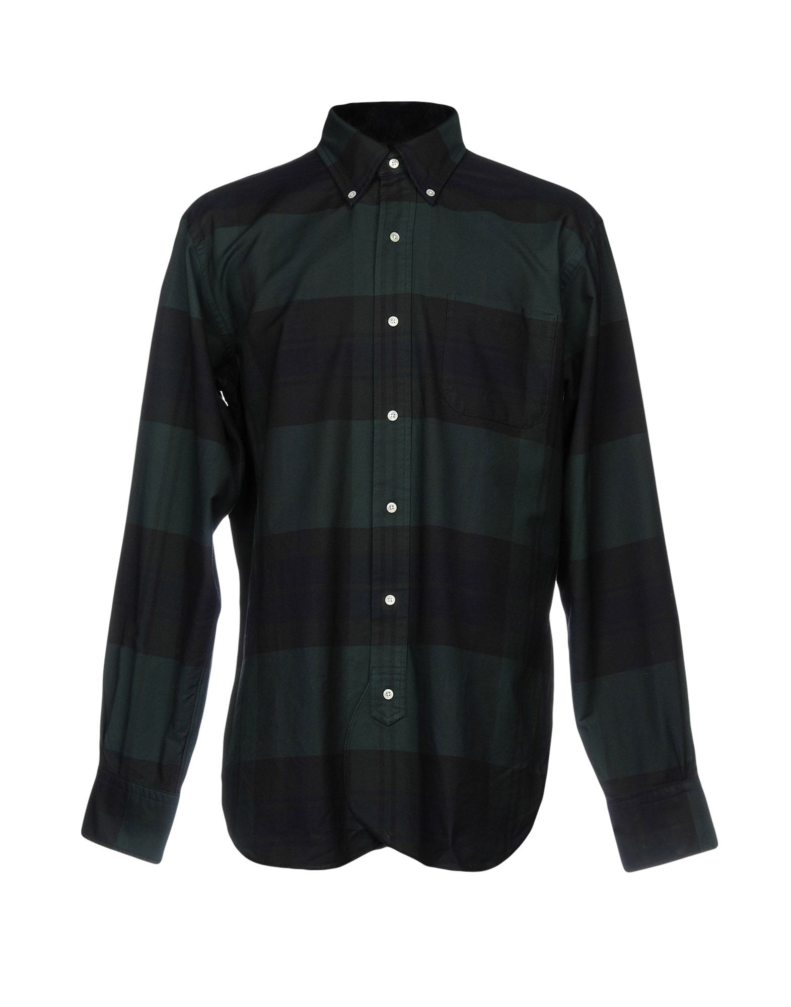 где купить BLACK FLEECE by BROOKS BROTHERS Pубашка по лучшей цене