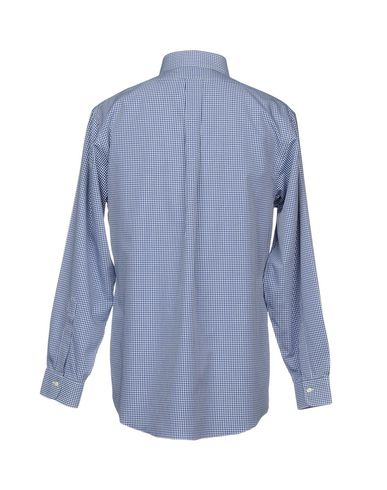 Фото 2 - Pубашка от BROOKS BROTHERS синего цвета