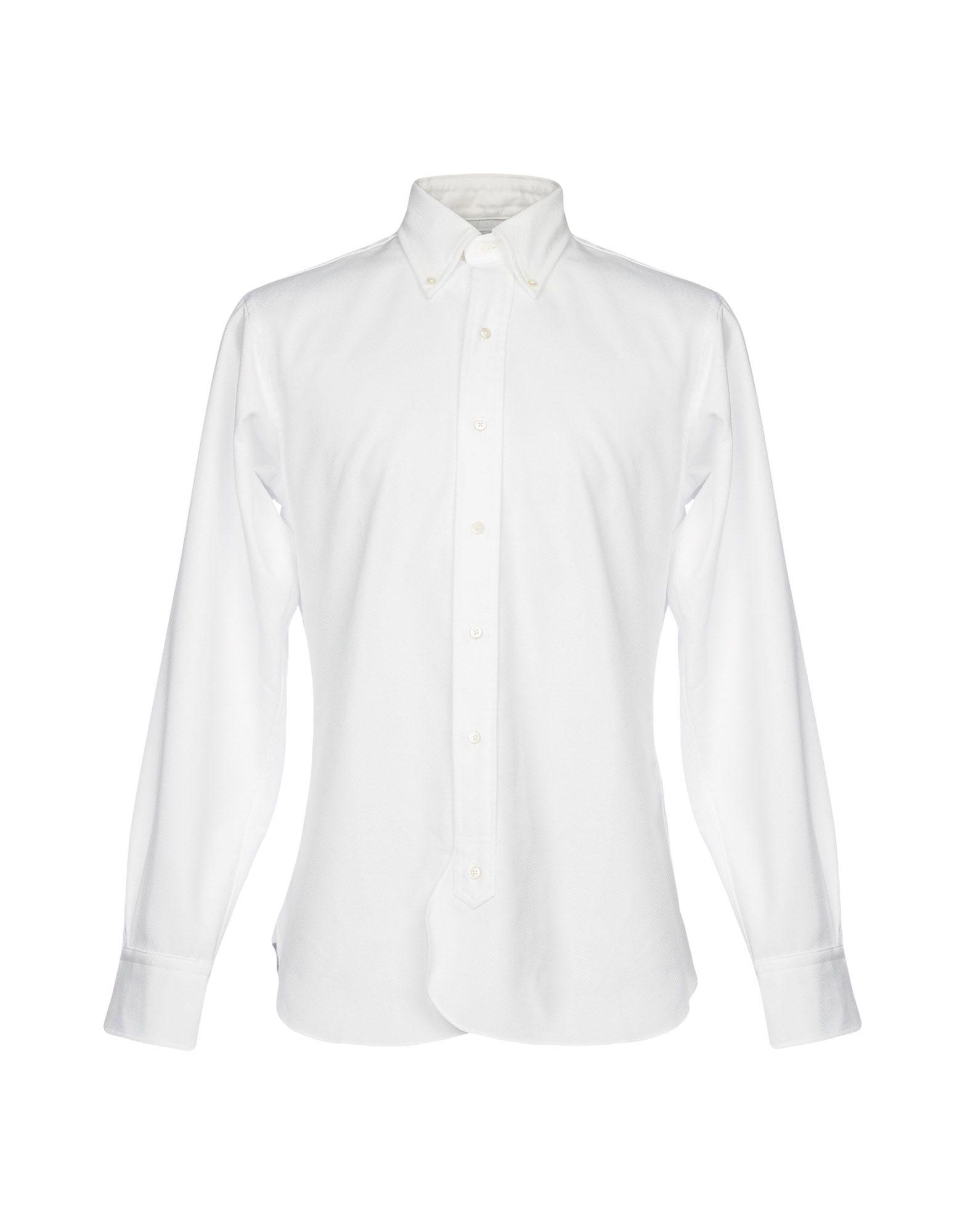 メンズ BLACK FLEECE by BROOKS BROTHERS シャツ ホワイト
