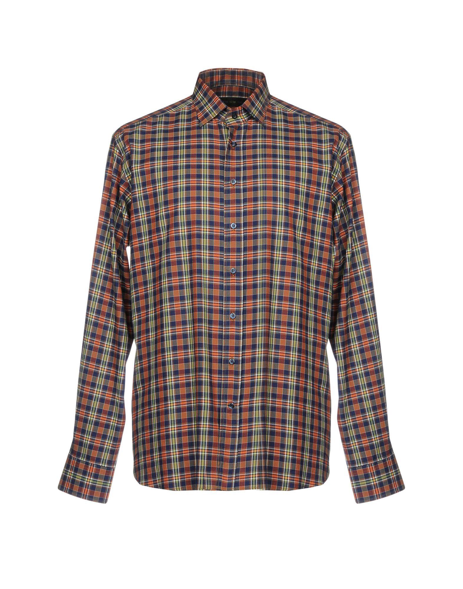 ETRO Herren Hemd Farbe Braun Größe 8