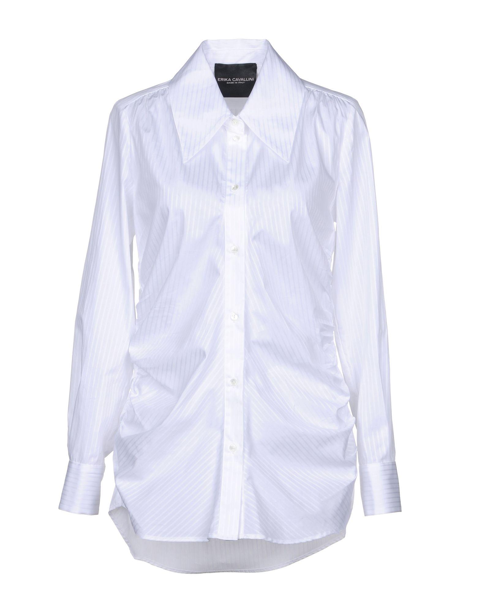 ERIKA CAVALLINI Pубашка ткань
