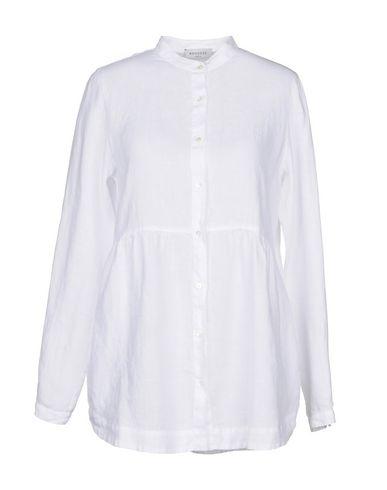 ROSSO35 レディース シャツ ホワイト 42 麻 100%