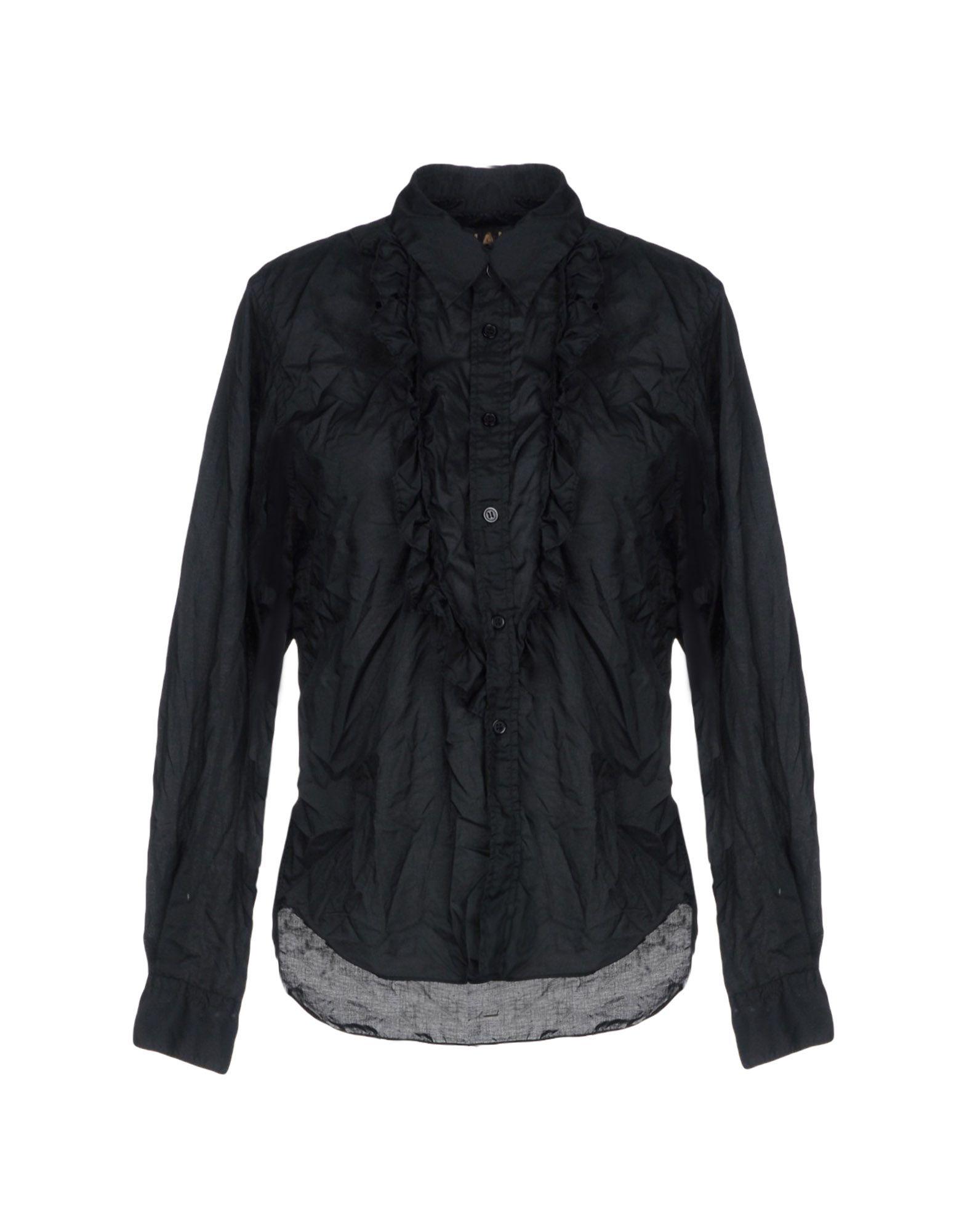 レディース COMME des GARONS シャツ ブラック
