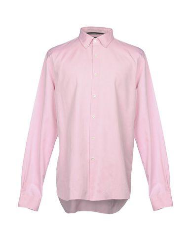 AQUASCUTUM メンズ シャツ ピンク XL コットン 100%