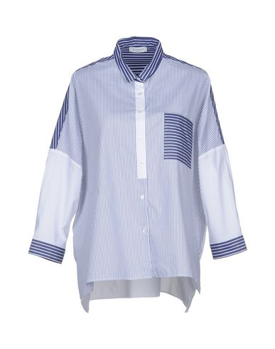ROSSO35 レディース シャツ ブルー 40 コットン 100%