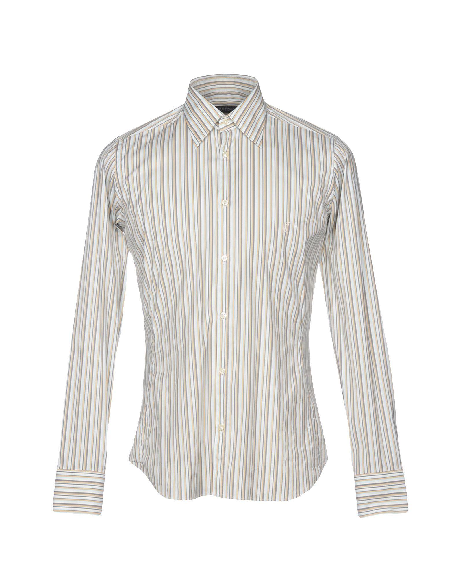 CARLO PIGNATELLI Pубашка цены онлайн
