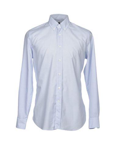 BAGUTTA メンズ シャツ ブルー 37 コットン 100%