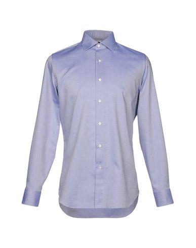 BAGUTTA メンズ シャツ ブルー 38 コットン 100%