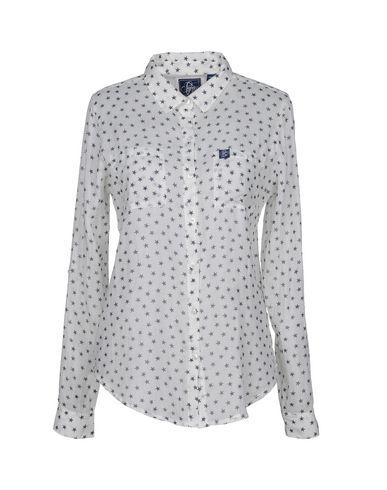 SUPERDRY Damen Hemd Weiß Größe M 100% Baumwolle