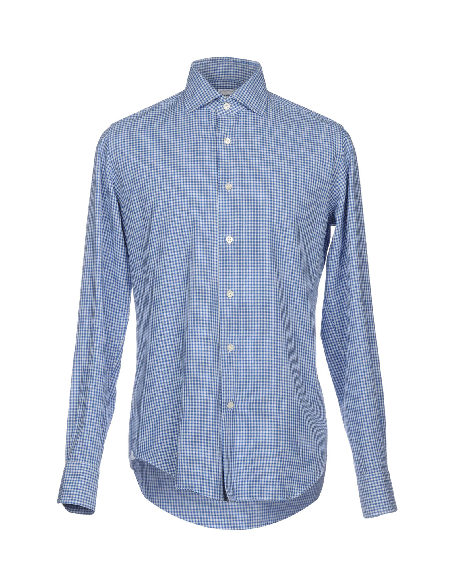 LEXINGTON Checked Shirt in Blue