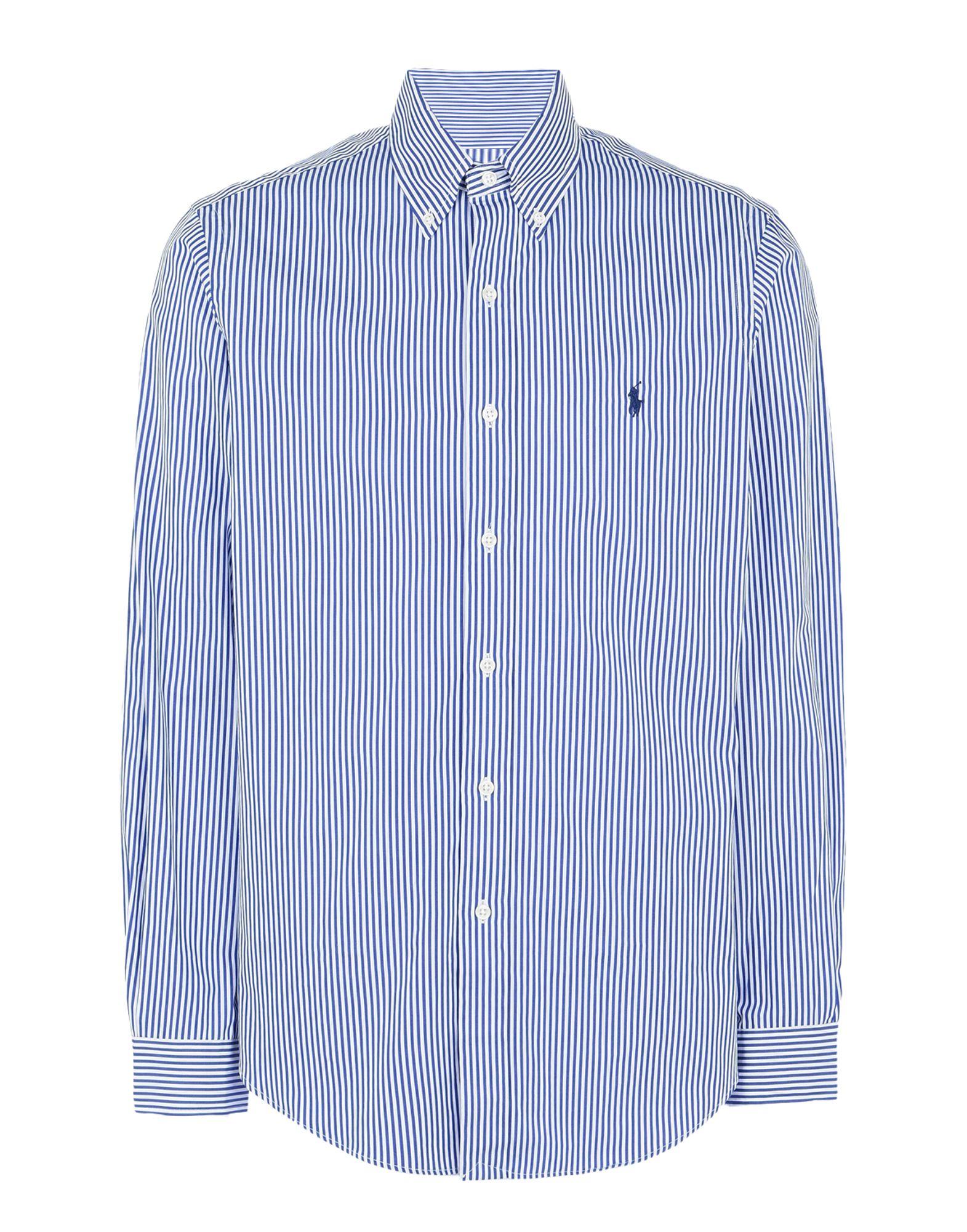 《期間限定 セール開催中》POLO RALPH LAUREN メンズ シャツ ブルー M コットン 100% Core Fit Poplin Shirt