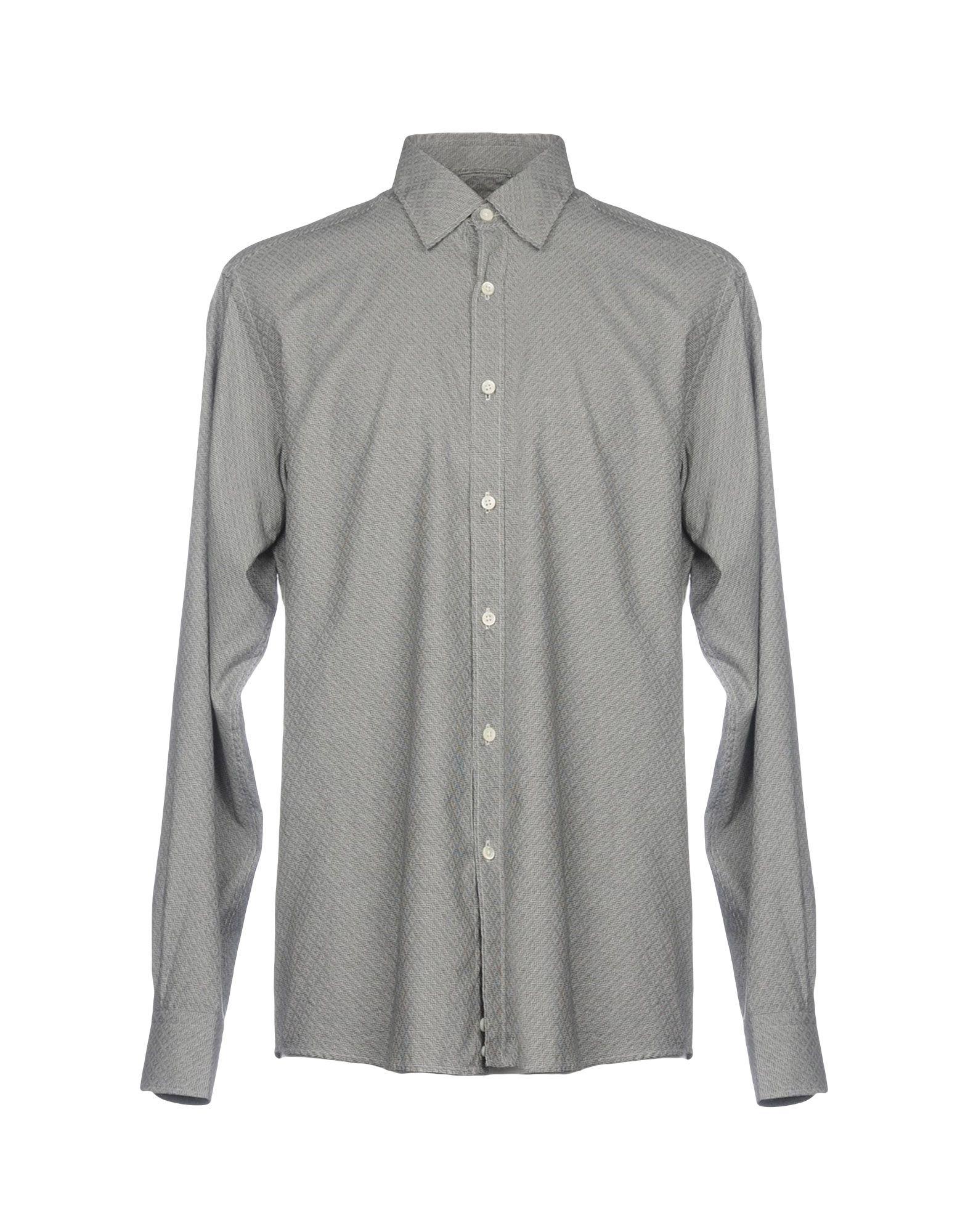 《送料無料》ERMENEGILDO ZEGNA メンズ シャツ ブラック XL コットン 100%