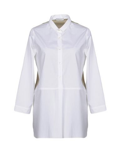 ROSSO35 レディース シャツ ホワイト 38 コットン 100%