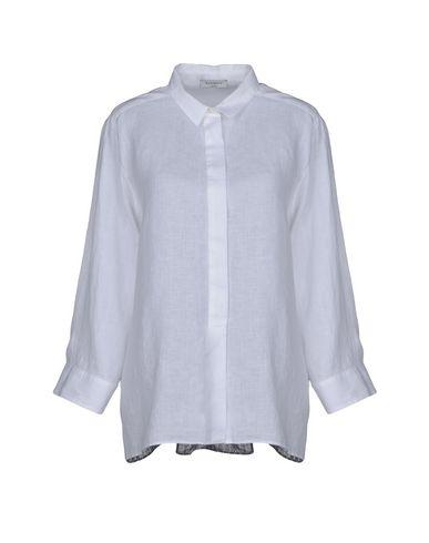 ROSSO35 レディース シャツ ホワイト 46 麻 100%