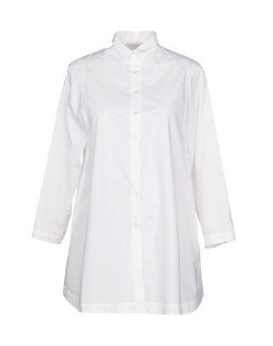 ROSSO35 レディース シャツ ホワイト 42 コットン 100%