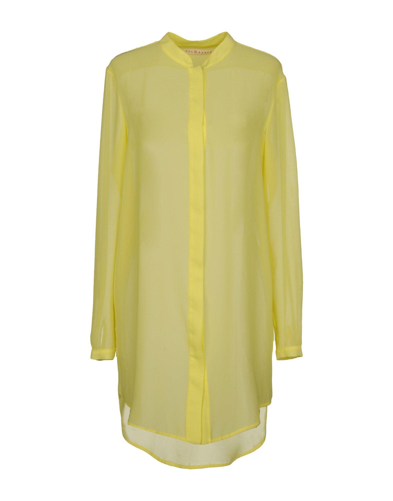 TOLÈRANCE Pубашка tolèrance блузка