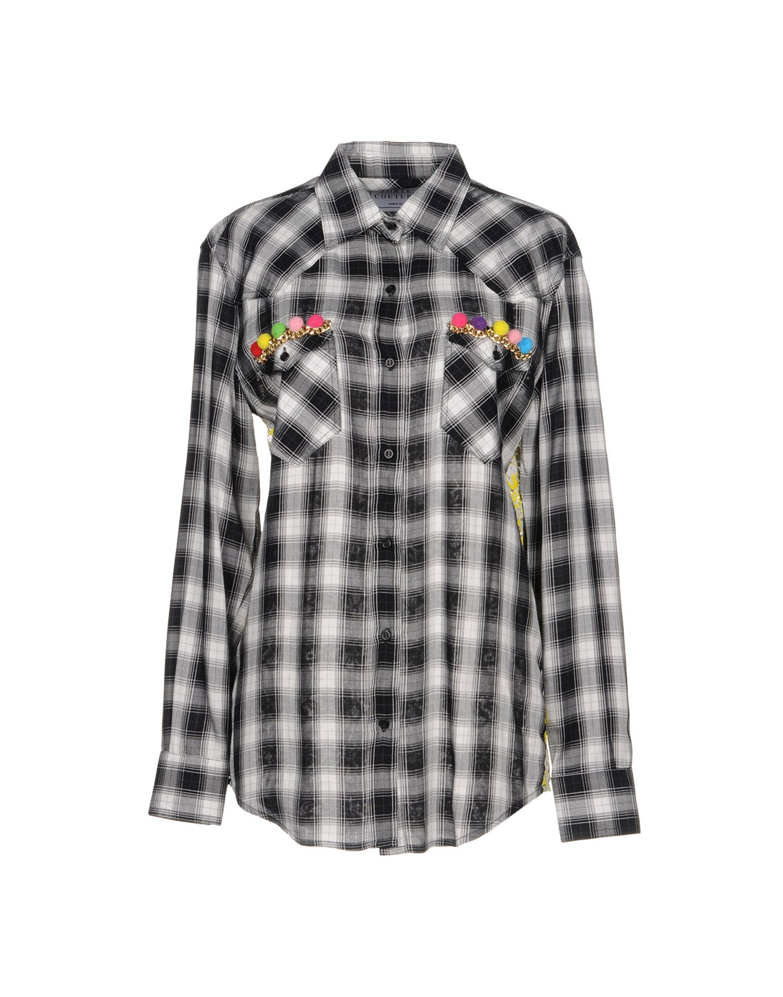 цена FORTE COUTURE Pубашка онлайн в 2017 году
