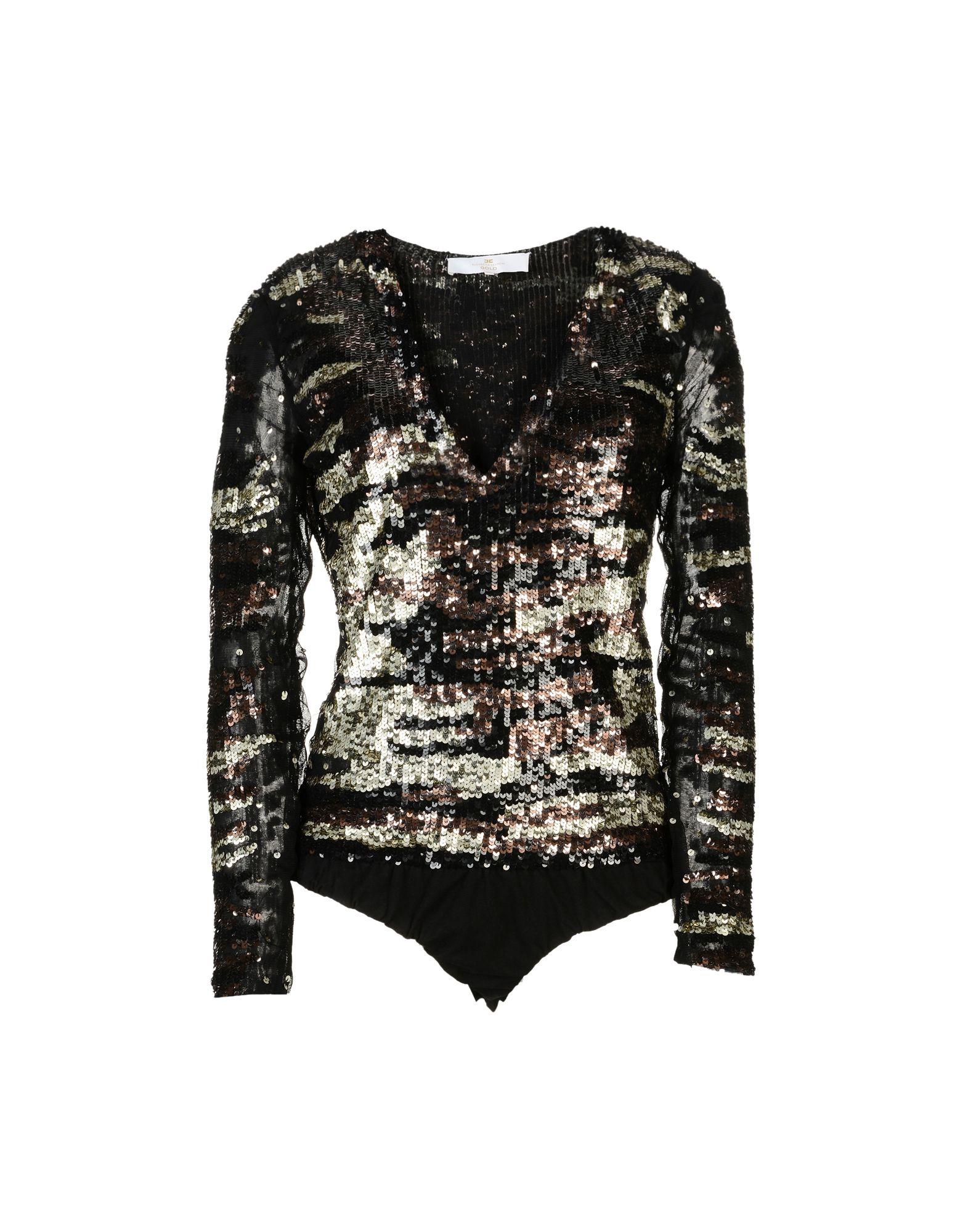 ELISABETTA FRANCHI GOLD Блузка цены онлайн