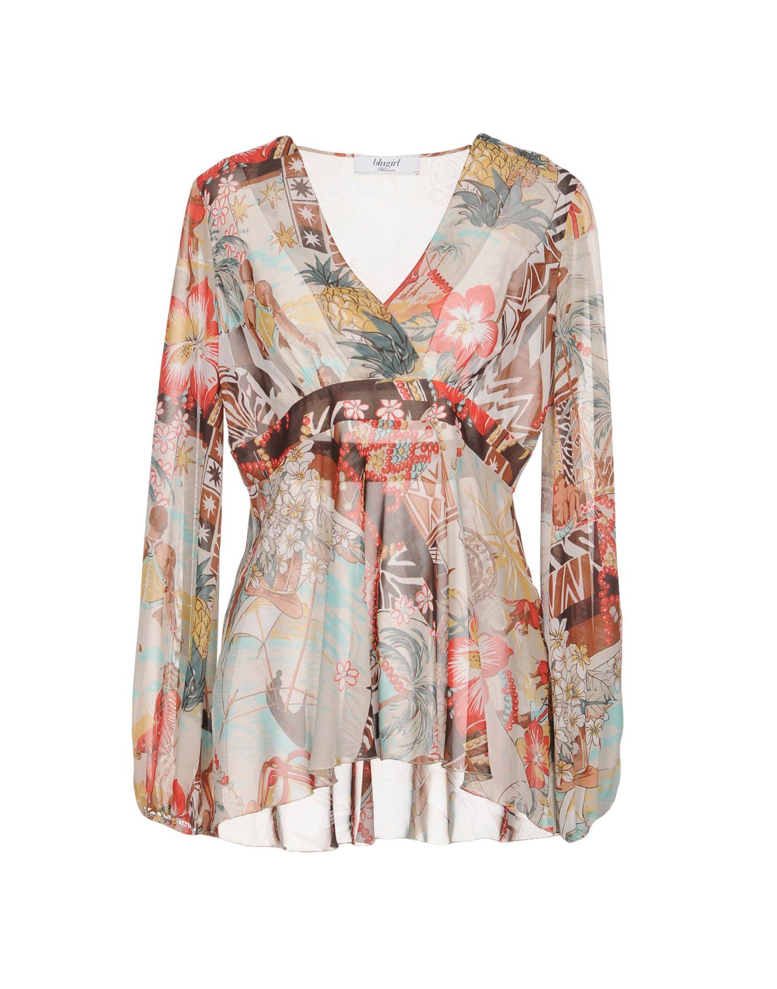 BLUGIRL BLUMARINE Блузка цена 2017