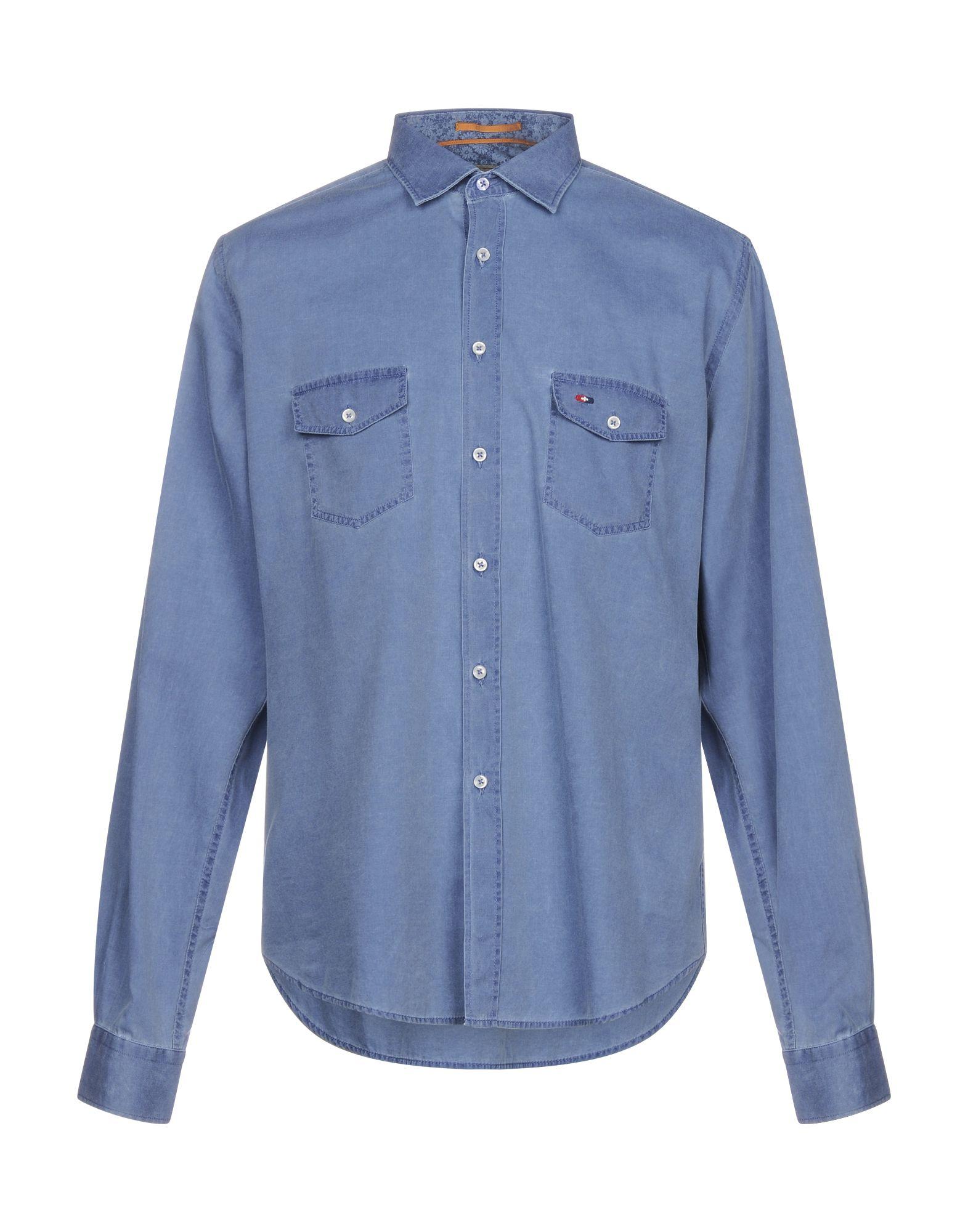 WEBB & SCOTT CO. Джинсовая рубашка рубашка webb