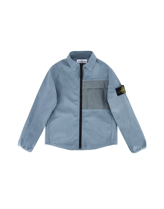 CAMICIA A MANICHE LUNGHE 10304 PACKABLE STONE ISLAND JUNIOR - 0