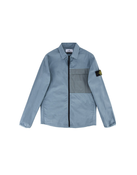 CAMISA DE MANGA LARGA 10304 PACKABLE STONE ISLAND JUNIOR - 0