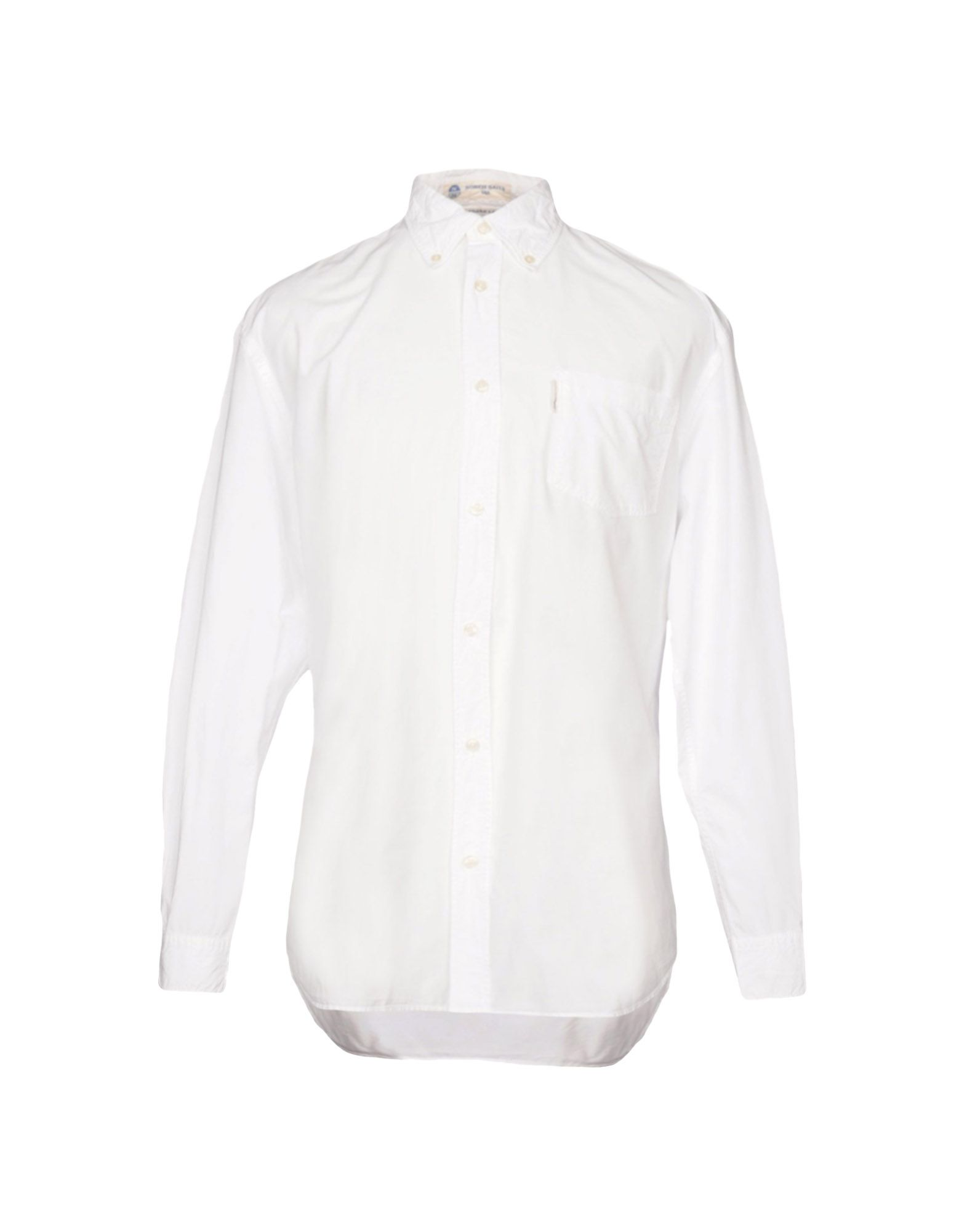 NORTH SAILS Solid Color Shirt in White