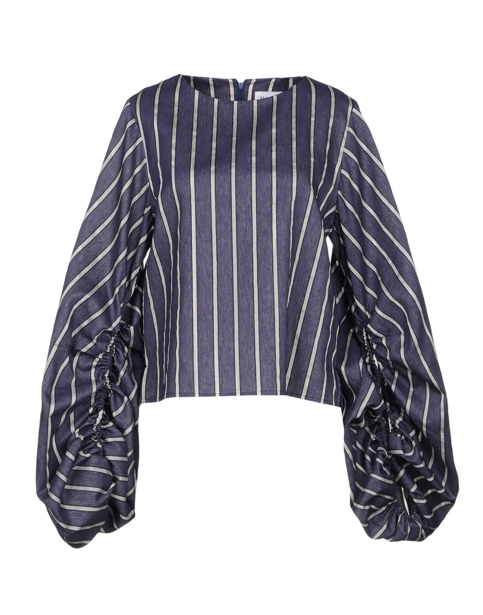 WEILI ZHENG Джинсовая рубашка