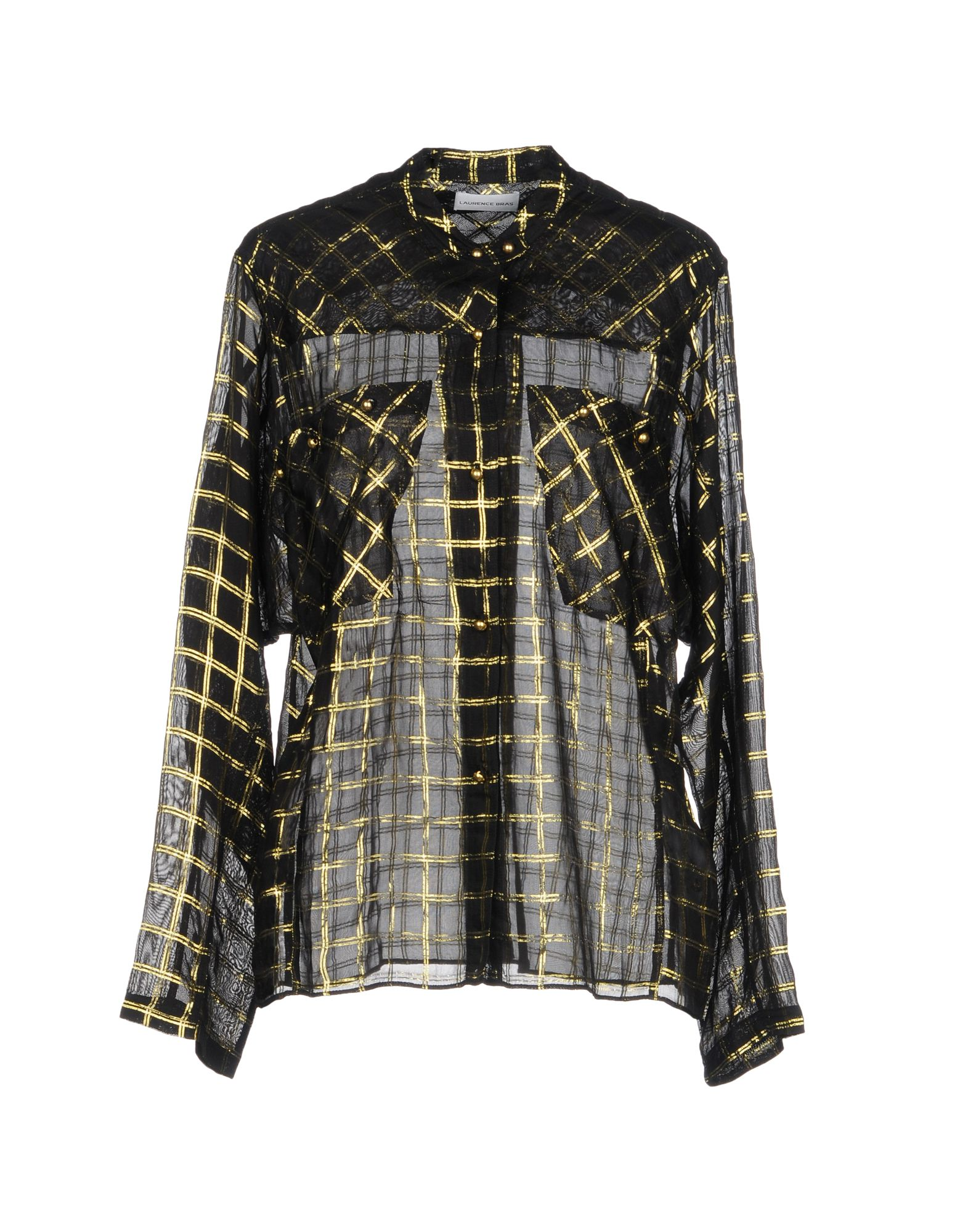 LAURENCE BRAS Checked Shirt in Black