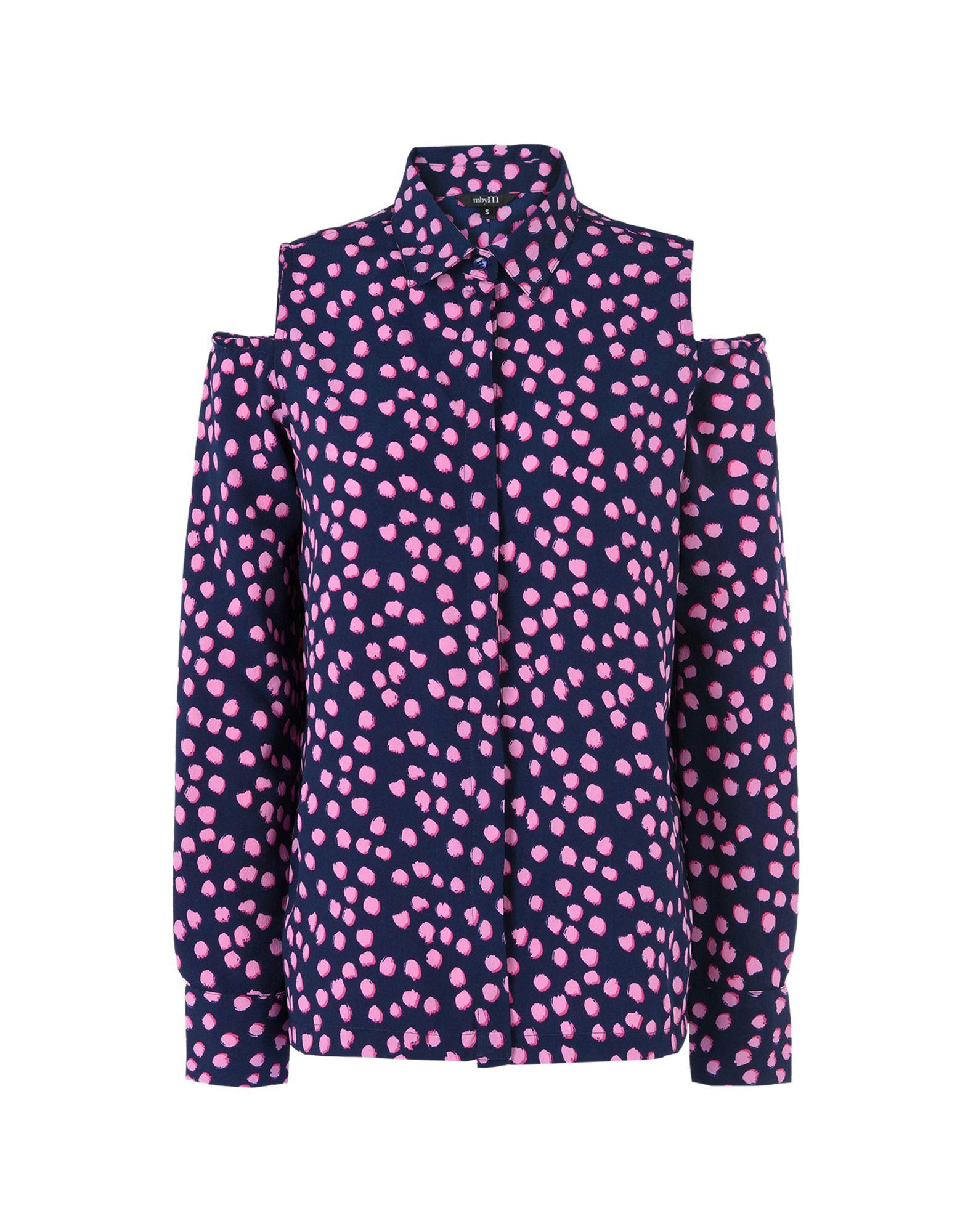 MBYM Patterned Shirts & Blouses in Dark Blue