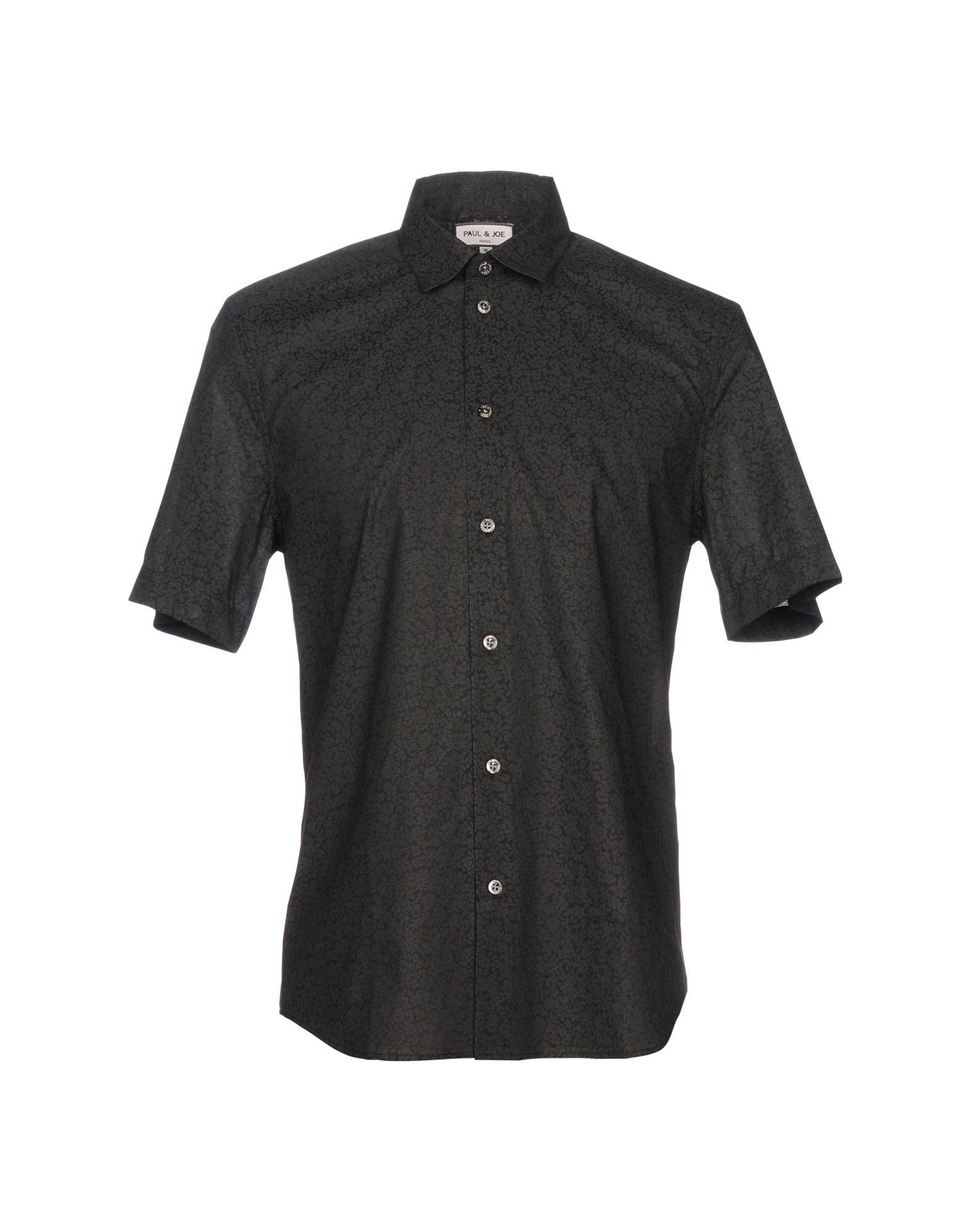 メンズ ポール & ジョー シャツ ブラック