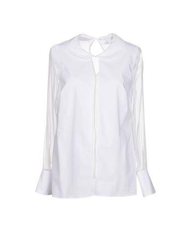 Фото - Женскую блузку STRETCH by PAULIE белого цвета