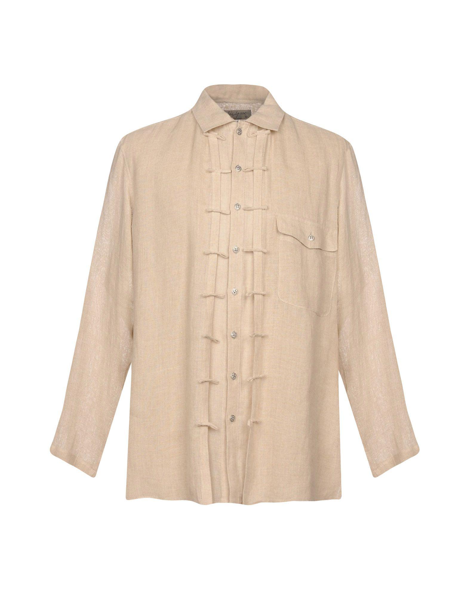 где купить YOHJI YAMAMOTO POUR HOMME Pубашка по лучшей цене
