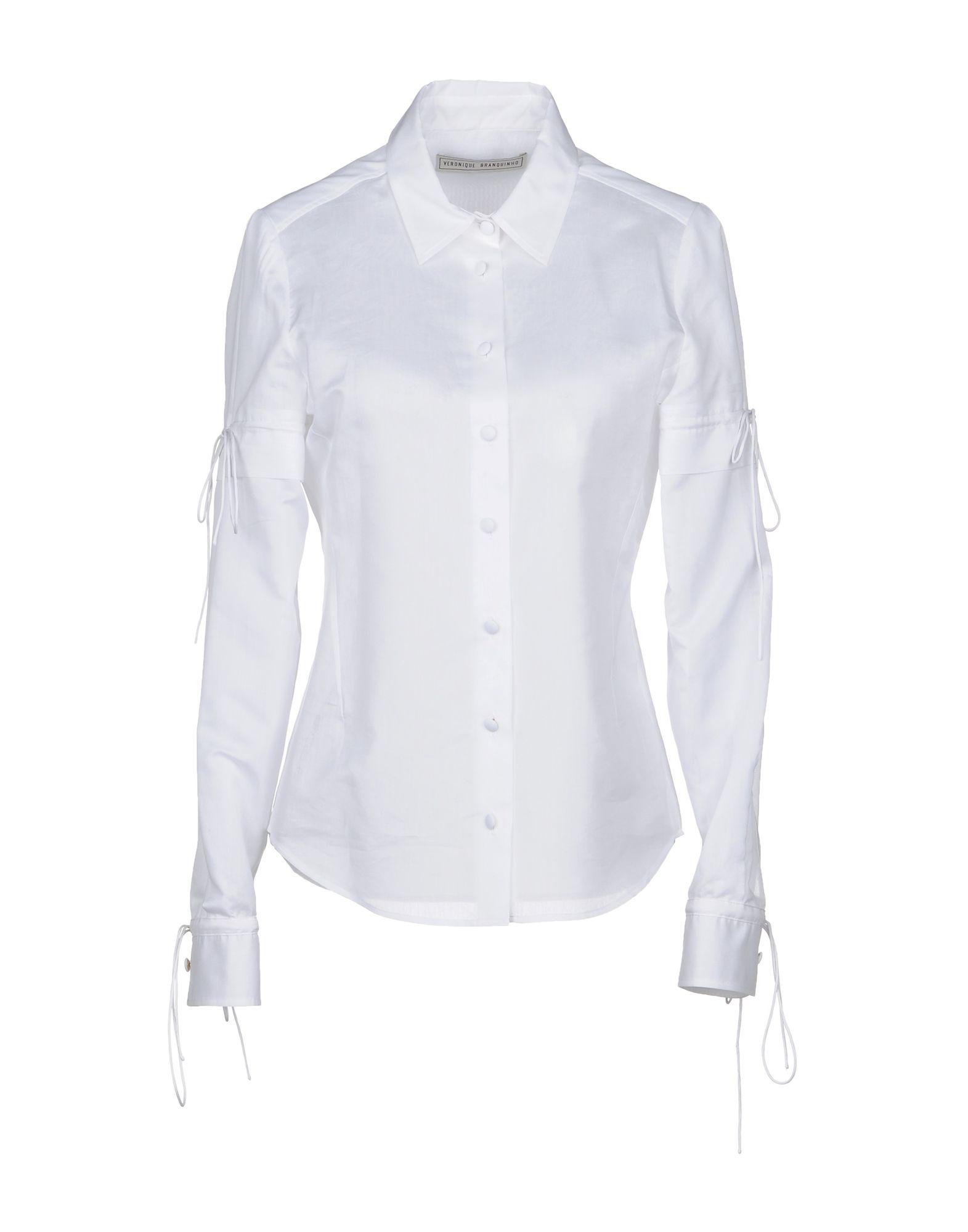 VERONIQUE BRANQUINHO Pубашка veronique branquinho куртка