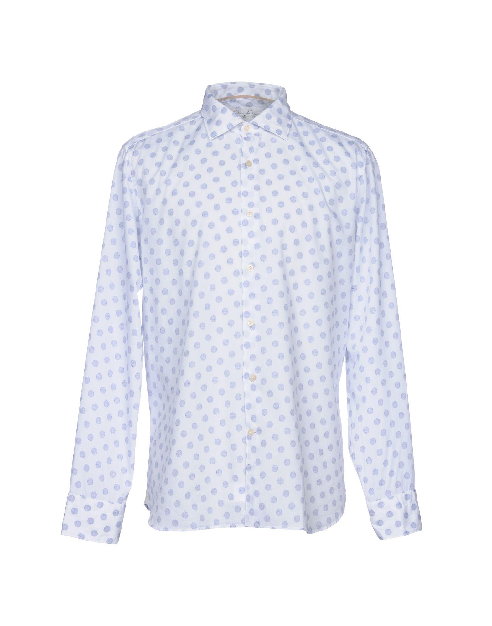 OPIFICIO MILANO M Pубашка блуза xs milano блузы в горошек