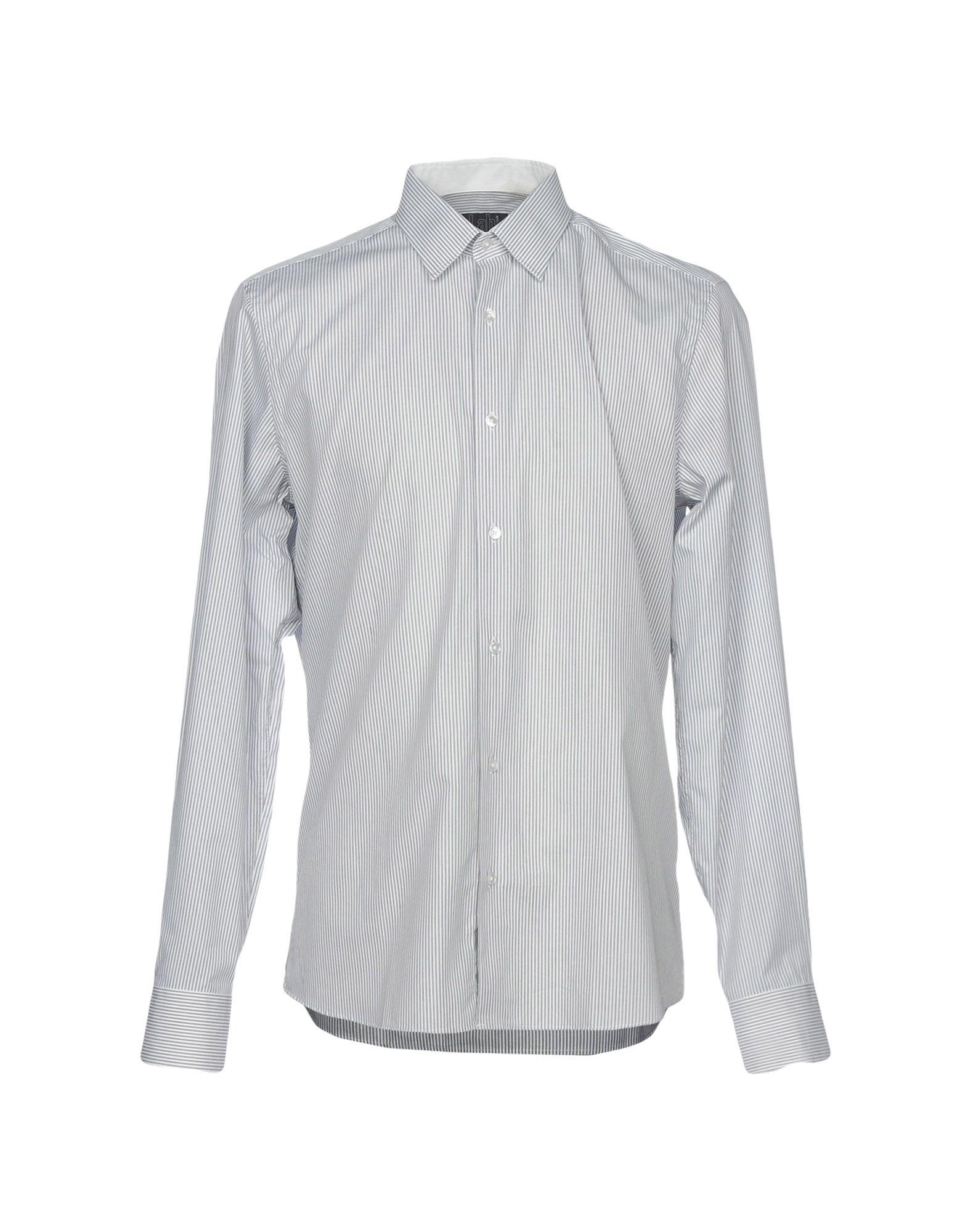 《セール開催中》LAB. PAL ZILERI メンズ シャツ ホワイト 42 コットン 100%