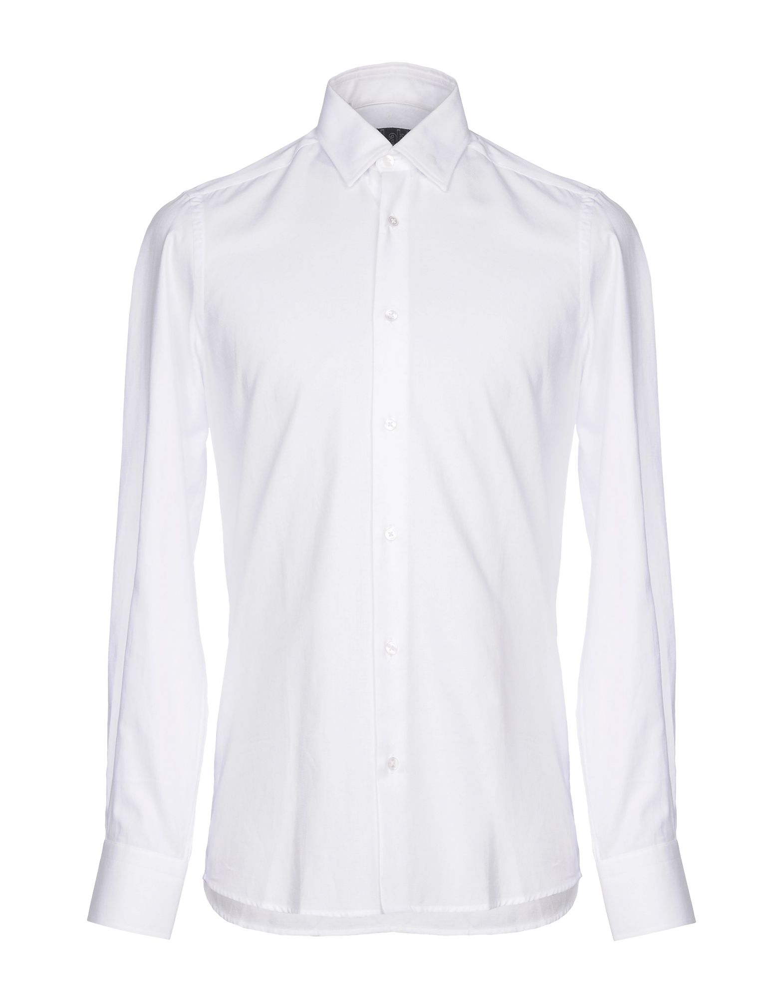 《セール開催中》LAB. PAL ZILERI メンズ シャツ ホワイト 43 コットン 100%
