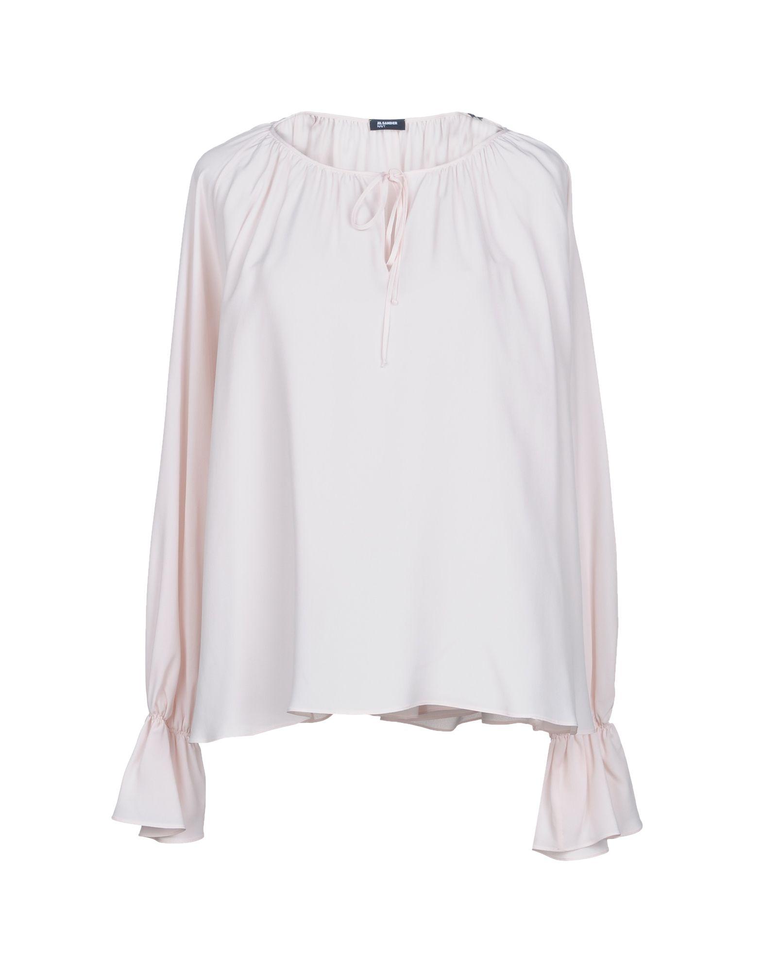 JIL SANDER NAVY Блузка перчатки eleganzza is01433 navy